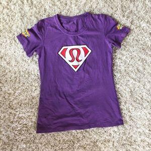 1edb92f11 lululemon athletica Tops   Lululemon Santas Helper T Shirt   Poshmark